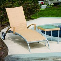Sabbia Outdoor Wicker Chaise Lounge AL-44-0144