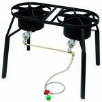 Outdoor Gas Cooker Dual Burner
