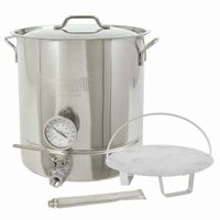 16 Gallon Stainless Steel 6 piece Brew Kettle Set 800-416 BY800-416