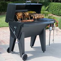 Outdoor grills, barbecue, charcoal, gas cookers, stoves