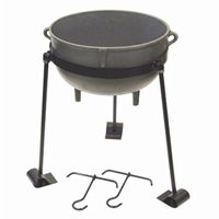 Cast Iron 15-gal. Jambalaya Pot Kit BY-CI-7415