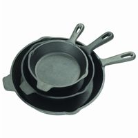 Cast Iron 3-piece Skillet Set BY7403