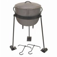 Cast Iron 4-gal. Stew Pot Set BY-CI-7411