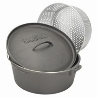 Cast Iron Dutch Oven 12-QT. with Basket BY7412