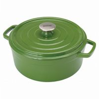 Enameled Cast Iron 5-Qt. Dutch Oven in Cypress Green BY7720G