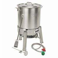 Homebrew Starter Kit 30 Qt Brew Kettle Set with Cooker BY800-130