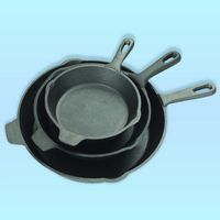 Skillets and frying sauce, sautee, roasting, baking pans