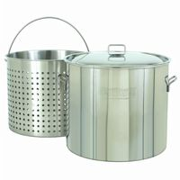 Steam Boil Fry Stockpot - 82 Qt Stainless Steel BY1182
