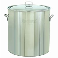Stockpot & Lid - 142 Qt Stainless Steel BY1046