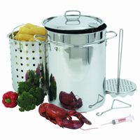 Turkey Fryer 32 Qt Stockpot Set BY1118