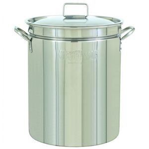 Stockpot & Lid - 24 Qt Stainless Steel BY1024