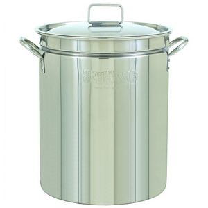 Stockpot & Lid - 44 Qt Stainless Steel BY1044
