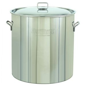 Stockpot & Lid - 82 Qt Stainless Steel BY1082