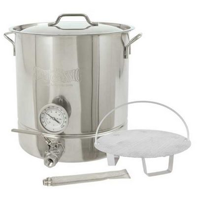 10 Gallon Stainless Steel 6 piece Brew Kettle Set 800-410 BY800-410
