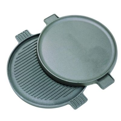 Cast Iron 14 inch Reversible Round Griddle BY7414