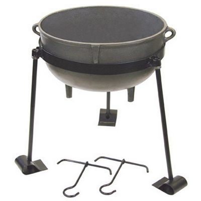 Cast Iron 30-gal. Jambalaya Pot Kit BY-CI-7430