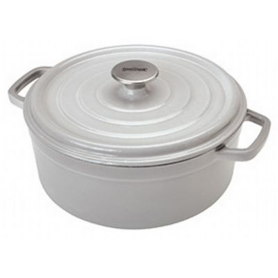 Enameled Cast Iron 5-Qt. Dutch Oven in Weathered Grey BY7720S