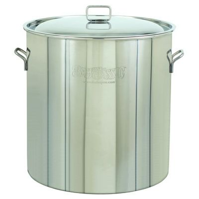 Stockpot & Lid - 102 Qt Stainless Steel BY1002