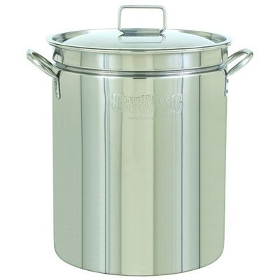 Stockpot & Lid - 62 Qt Stainless Steel BY1060