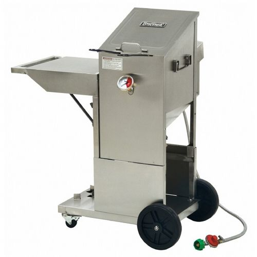 Outdoor Deep Fryer 4 Gal. with Cart BY700-185-701-185