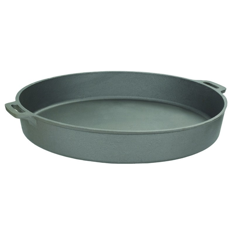Seasoned Cast Iron Cookware: Bayou Classic 20 inch Jumbo Cast Iron Skillet