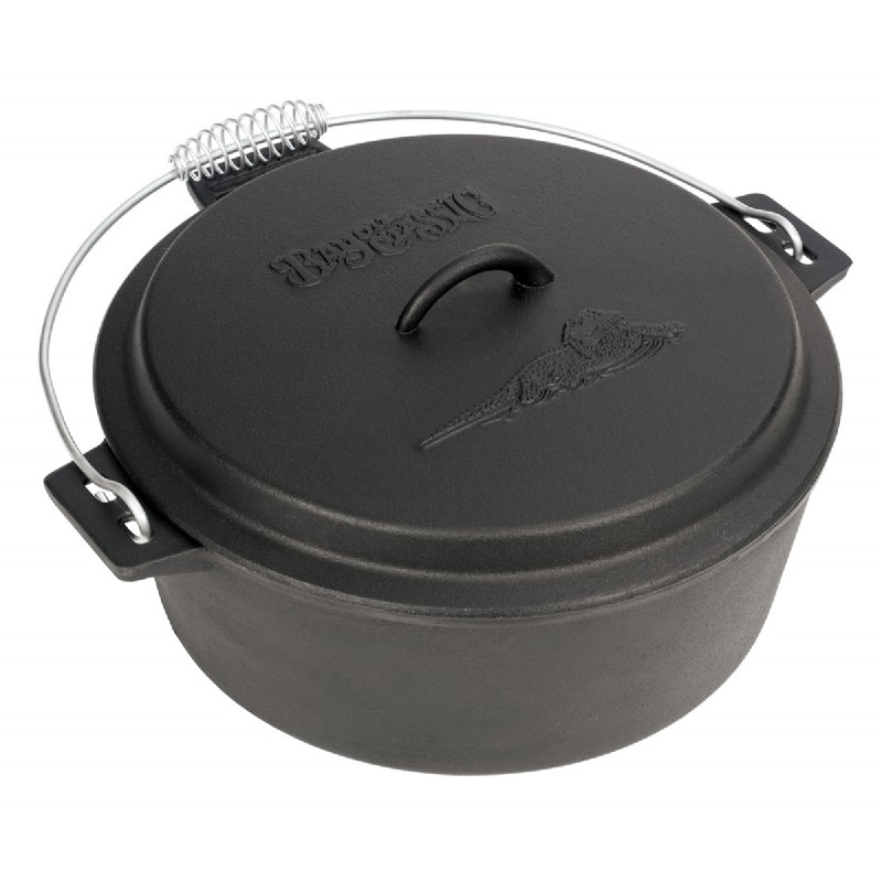 Cast Iron Chicken Fryer 10 Qt.
