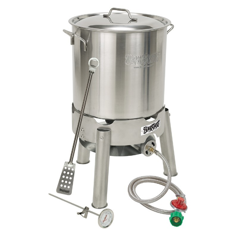 Homebrew Starter Kit 30 Qt Brew Kettle Set with Cooker