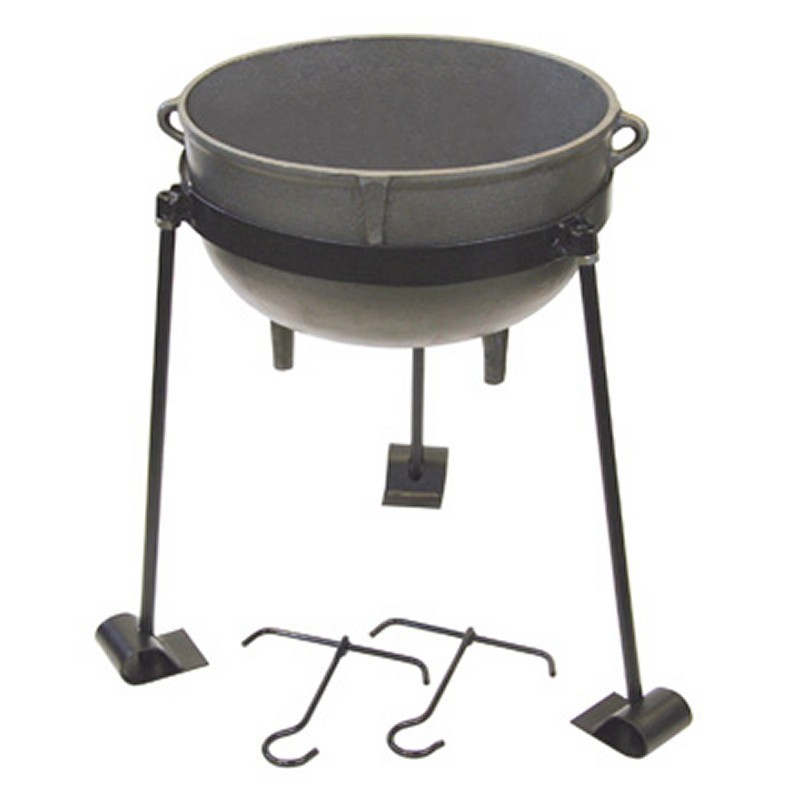 Bayou Classic 10 gal. Cast Iron Pot Jambalaya Set
