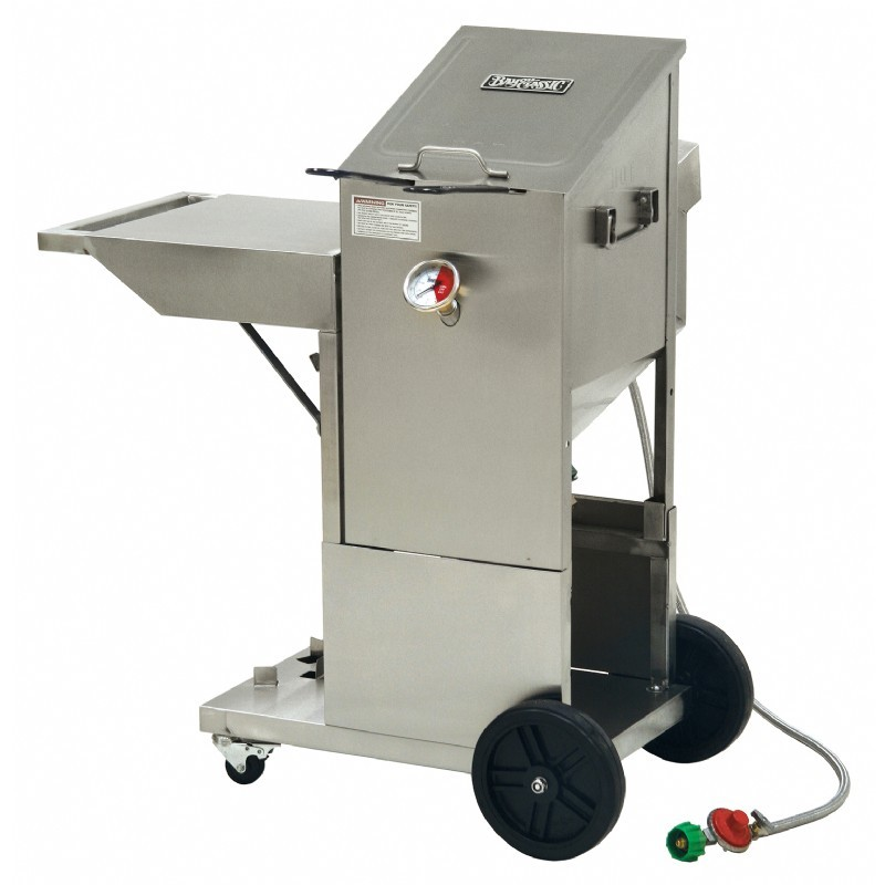 Deep Fryers: Bayou Deep Fryer with Cart