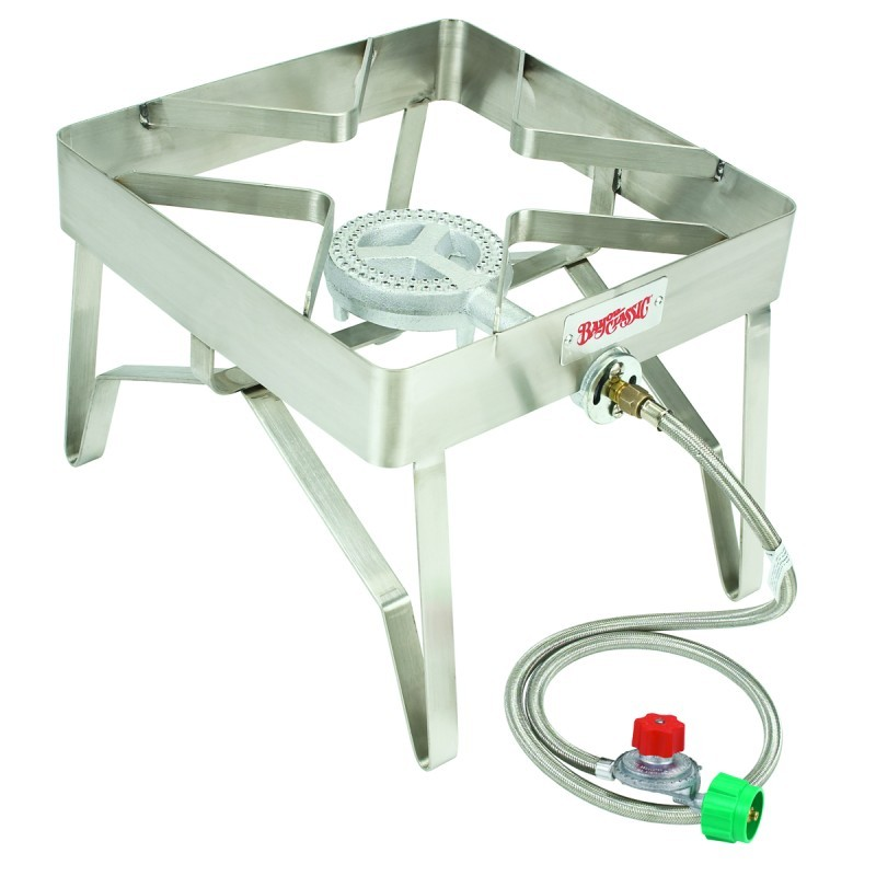 Outdoor Patio Gas Stove Stainless Steel Cooker 16 Inch.