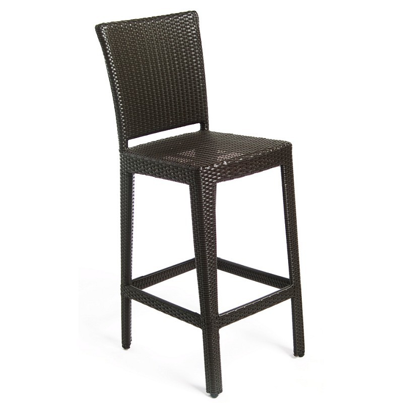 Aria Outdoor Wicker Barstool : Patio Chairs