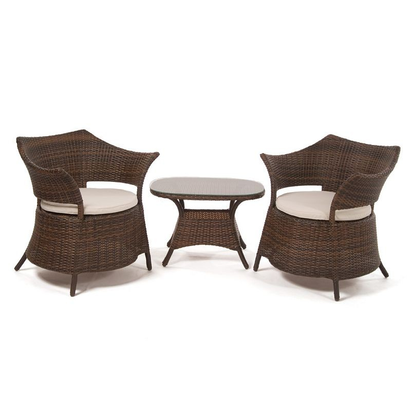 Wicker Patio Furniture Sale on Patio Deepseating Sets   Macau Wicker Outdoor Patio Set 3 Piece