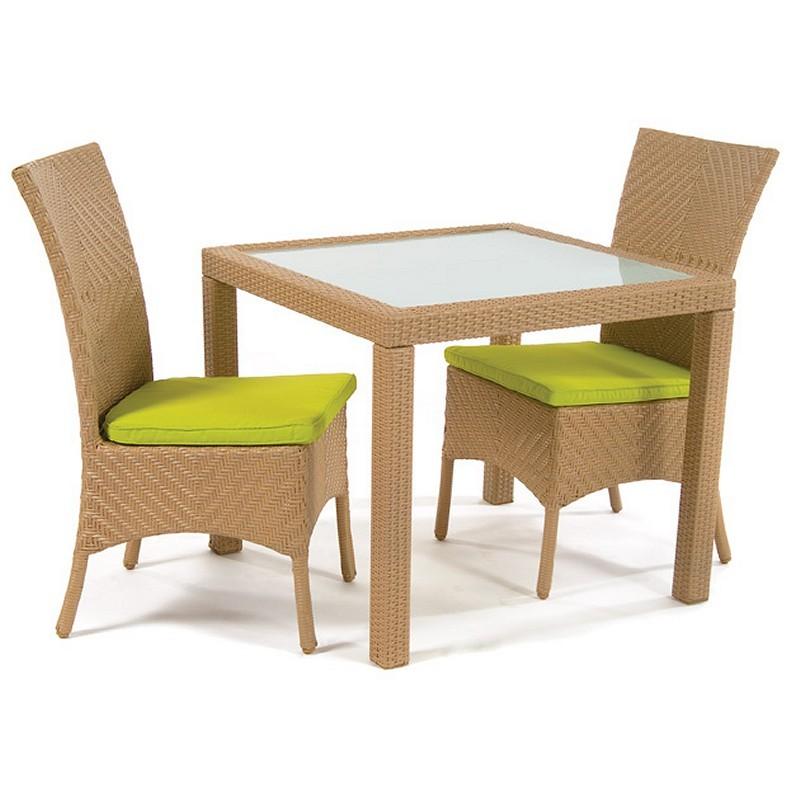 Wicker Outdoor Dining Furniture on Wicker Dining Sets   Kannoa Marbella Outdoor Wicker Dining Set 3