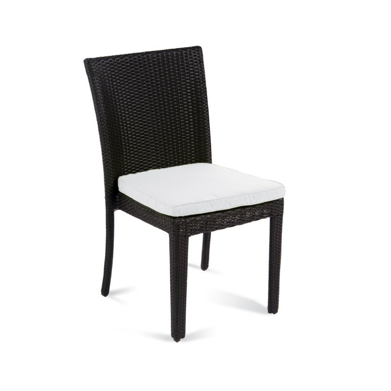 Big Outdoorsman Xl Fold Up Chair: Senna Outdoor Dining Chair with Cushion