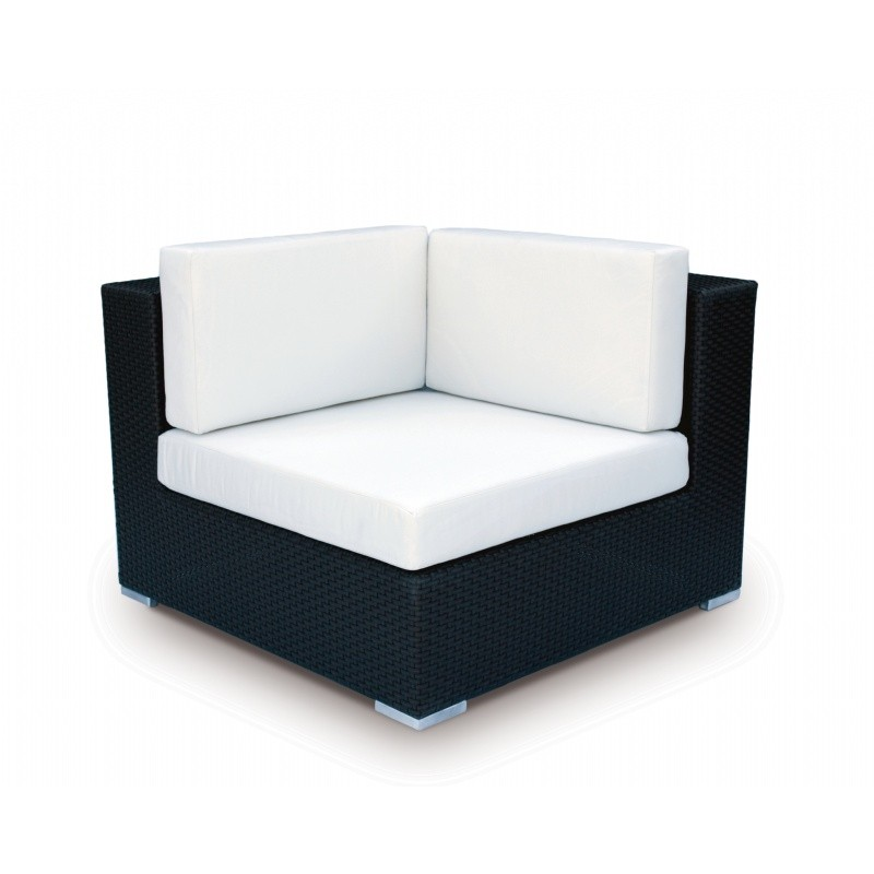 Tangier Outdoor Wicker Sectional Corner Unit