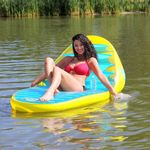 Banana Beach Lounge Pool Float SP54-1660
