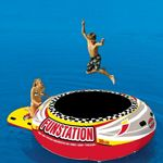Funstation 10 Foot Jumper Island Lake Bouncer SP58-1015