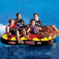 4 person towables, inflatable, water sports, tubes