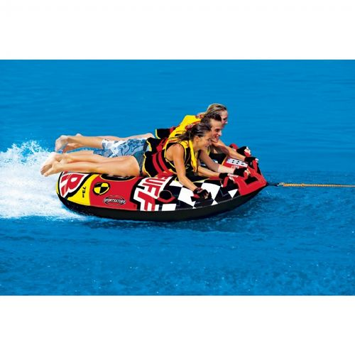 Frequent Flyer Round Towable Tube 80 inches SP53-1661