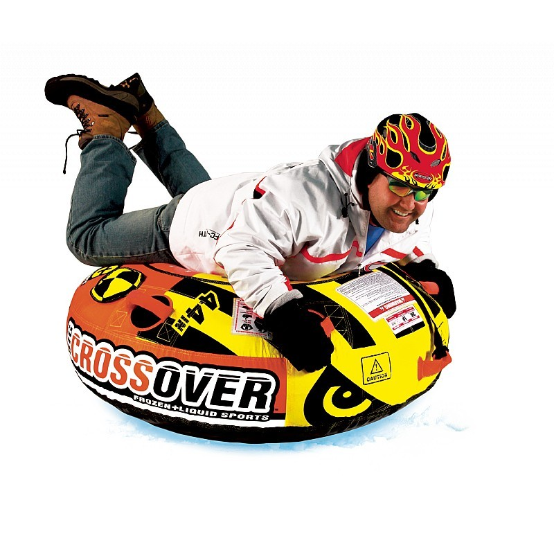 Inflatable Snow Tubes: Zip Slopepro Inflatable Snow Tube