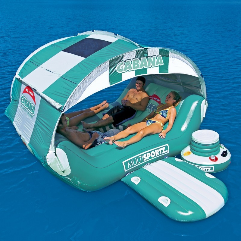 Inflatable Rocket Ship Toy: Inflatable Cabana Island