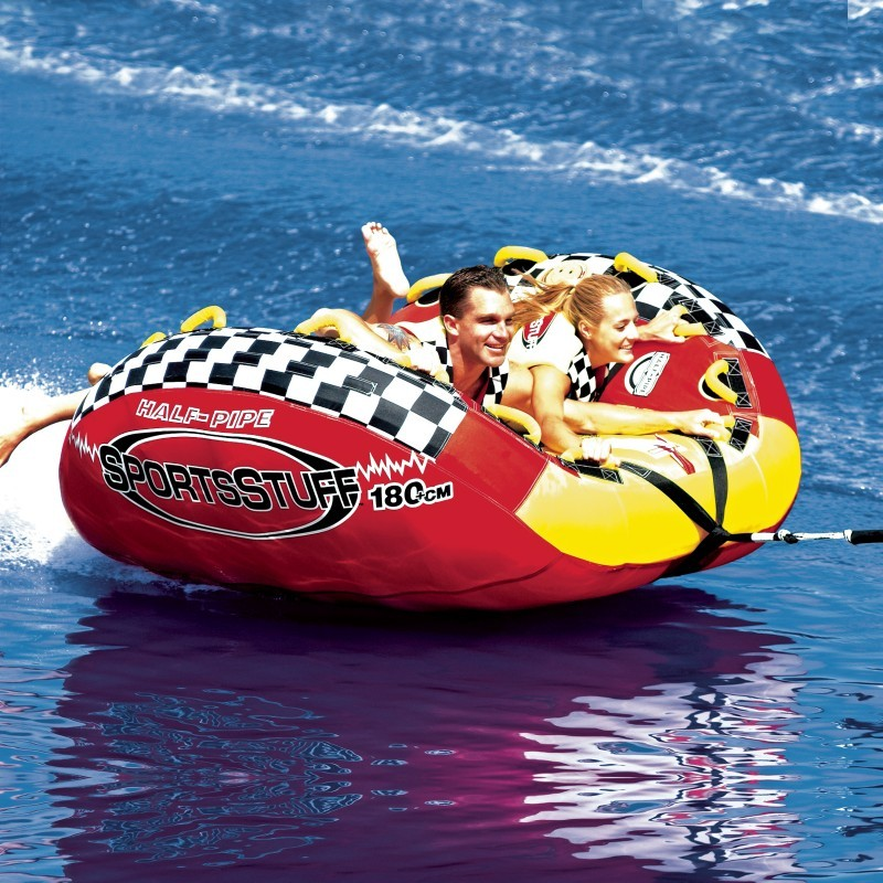 Halfpipe Rampage Waterski Tube for 2 : Towable Water Sports