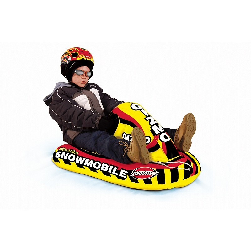 3 Person Pool Float: Snow Mobile Inflatable Snow Sled
