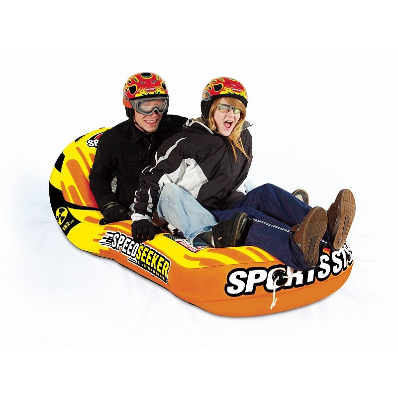 2 Person Snow Sleds: Inflatable Snow Tube Nordic Express