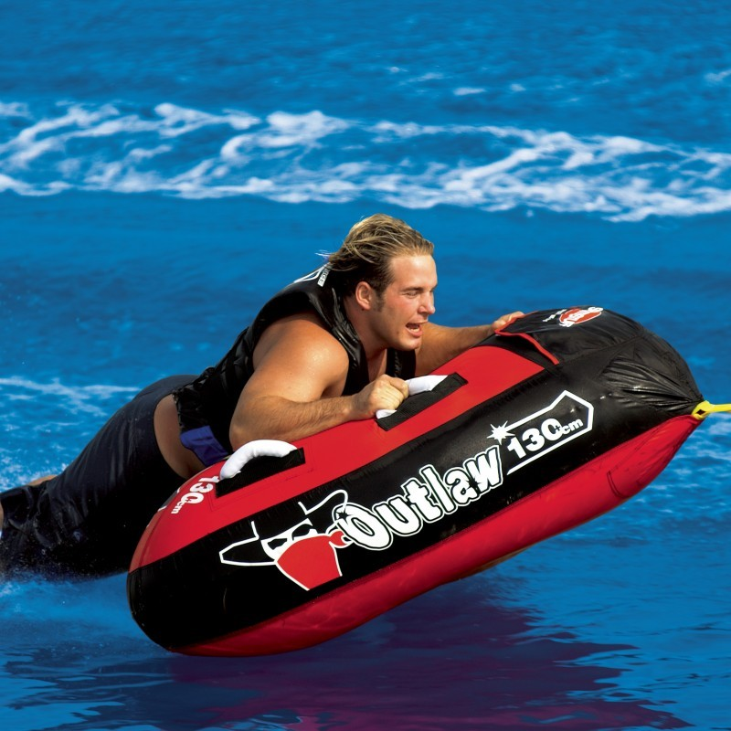 Water Sport Inflatables: Outlaw Triangle 1-Person Towable Tube