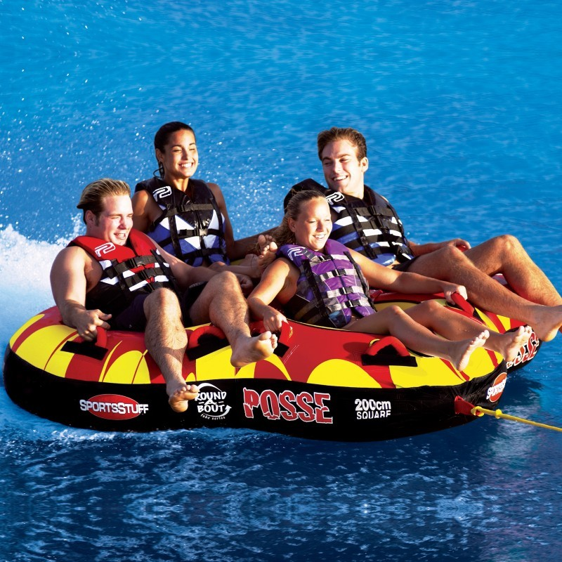 Posse Towable Waterski Tube 4 riders