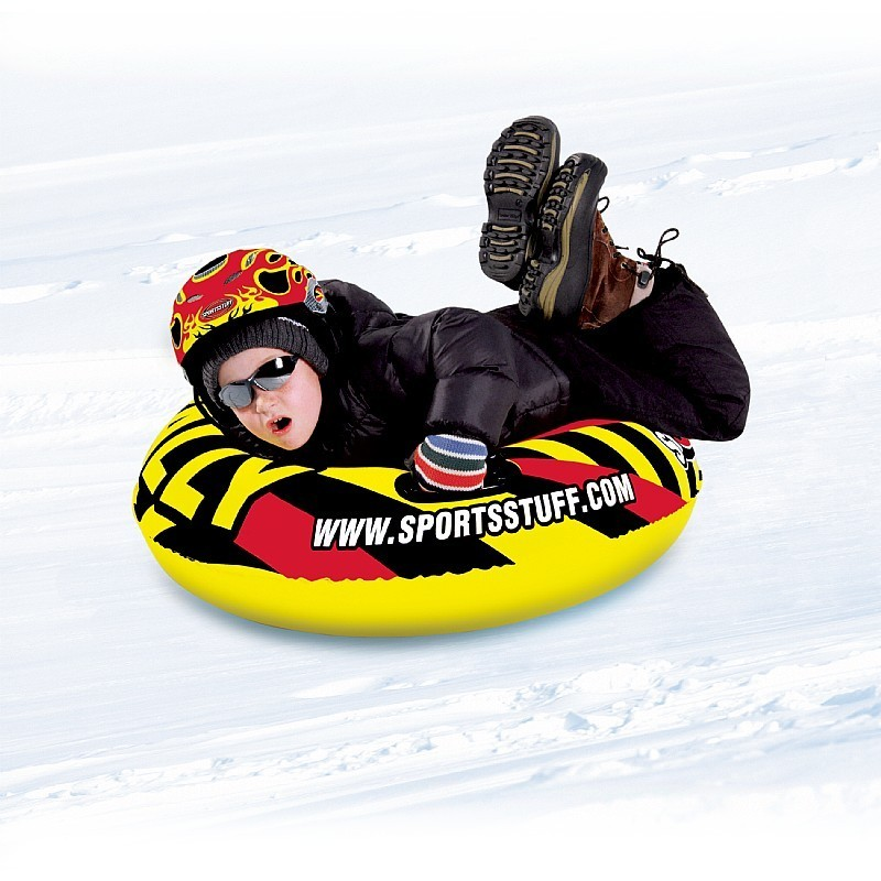3 Ski Sled: Rally Inflatable Snowtube