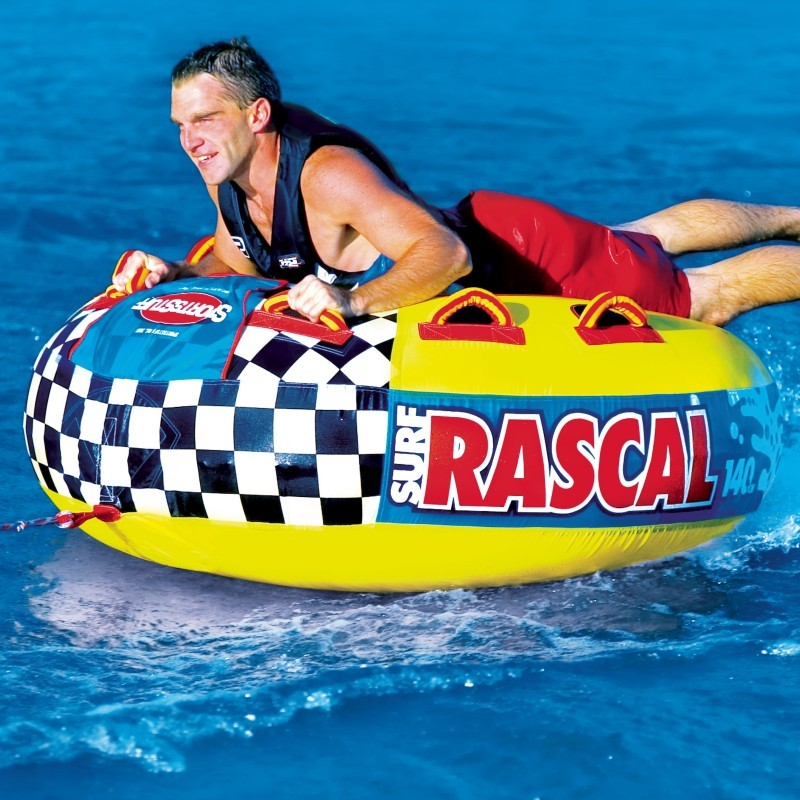 6 Person Float: Rascal Waterski Towable Round Tube