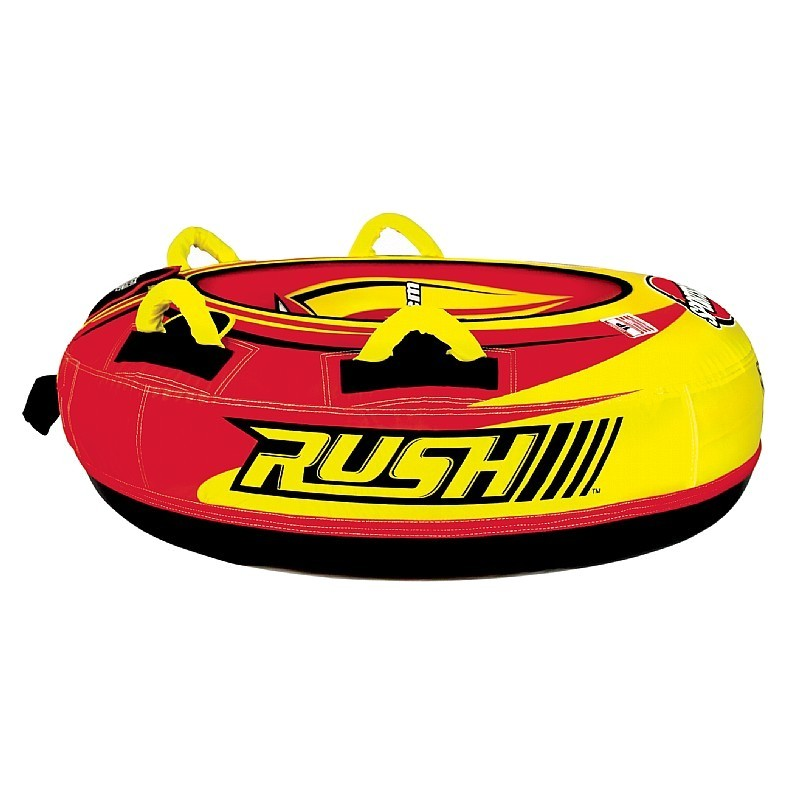 Pool Float Hard Plastic: Rush Inflatable Snow Tube Hard Bottom