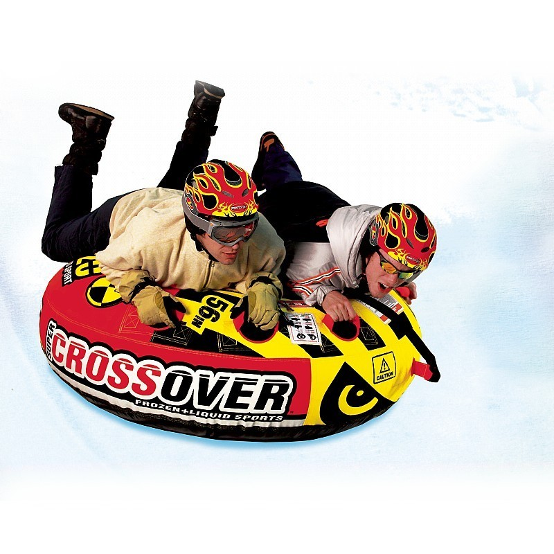 Snow Tubes Double Rider: Super Crossover Inflatable Tube